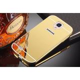 Capa Case Bumper Alumínio Espelhada Luxo Galaxy S4 I9500 Top