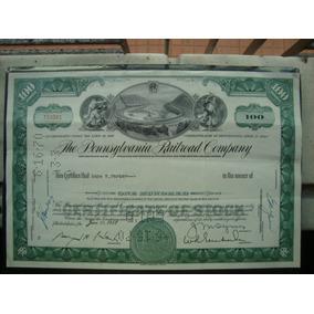 Apolice - The Pennsylvania Railroad Company - Ano 1959