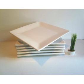 Platos Cuadrados Playos 25x25cm Verdes - Artículos de Bazar en ... 49ee534f6ed1