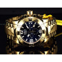 Relojes Invicta Mens Swiss Reserve Excursion Gold 18kl High