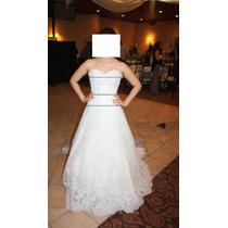 Vestido De Novia,corset Talla 5 A 7, Precio A Tratar
