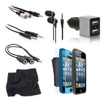 Kit Conjunto C/ 12 Acessórios Fone Esojo P/ Iphone 5 5312