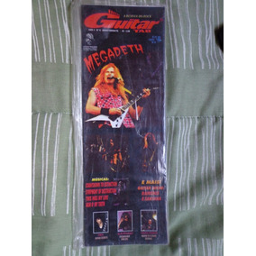 Guitar Tab - Megadeth - Lacrada - Frete Grátis