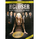 Box The Closer Divisão Criminal - A Primeira Temp. Completa