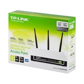 Ap Extensor Cliente Repetidor Tp-link Tl-wa901nd 300mb