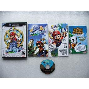 Game Cube: Super Mario Sunshine Completo + Extras!! Jogaço!!