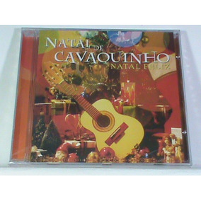 Cd - Natal De Cavaquinho (ritmo De Samba - Novo - Lacrado)
