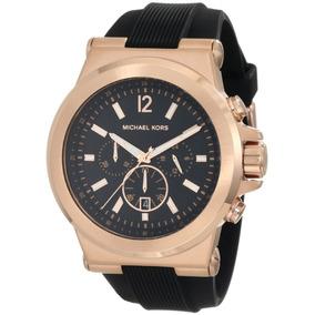 Relógio Michael Kors Mk8184 Rose Grande Unissex Original