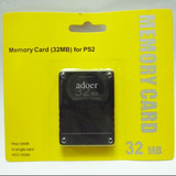 Memory Card 32mb Tarjeta Memoria Playstation 2 Y Ps2 Slim