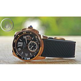 Reloj Cartier Calibre Edicion Diver Automatico Rose Gold