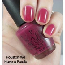 O.p.i Esmalte Importado Houston We Have A Purple