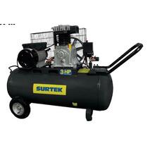 Compresor Con Transmision De Banda 3 Hp Surtek Oferta