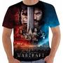 Camiseta Ou Babylook Filme World Warcraft Wow Filme Color