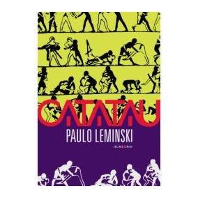 Livro Catatau Paulo Leminski - Poesia Romance