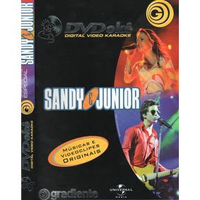 Dvd Sandy & Junior Karaoke Músicas E Videoclips Originais