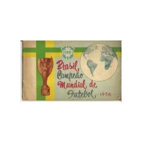 Brasil Campeão Mundial De Futebol 1958 - Cbd