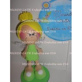 Enfeites Decoração Festa Sininho 3d Fadas 1un Tinker Bell