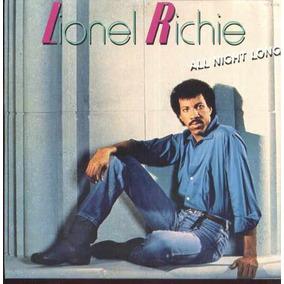 Lionel Richie Compacto Vinil Nacional Usado All Night Long