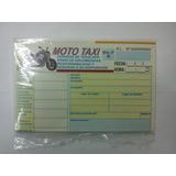Taxi 1 Talonario 50 Recibos Mototaxi Oferta