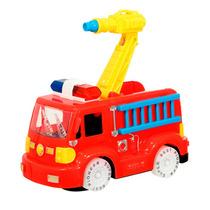Caminhão Bombeiro C/ Som E Luz Brinquedo Infantil