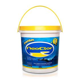 Cloro Granulado Neoclor Premium Piscina Balde 10 Kg