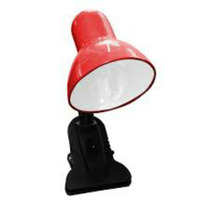 Luminária De Mesa C/ Garra Presilha Bivolt Cores Leitura E27