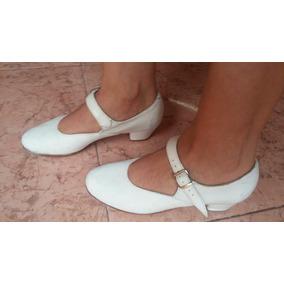 Zapatos De Danza Blancos #3