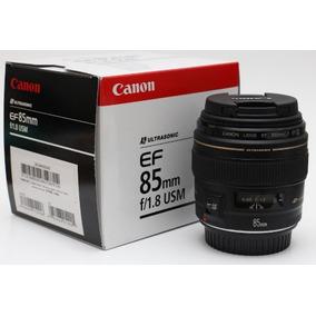 Lente Canon 85mm 1.8 F/1.8 Usm Ef Nova Mercadolider Platinum