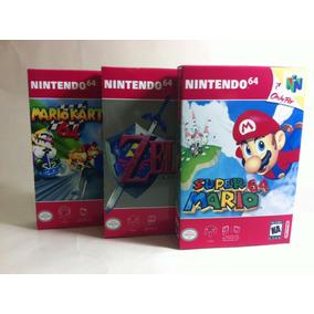 Mini Caixas Para Jogos De Nintendo 64