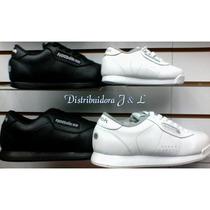 Zapatos Reebok Clasicos Negro Y Blancos