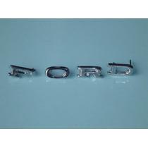 Emblema Ford P/ Belina Letras Do Capô Novo Corcel Maverick