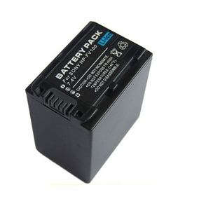 Bateria Np-fv100 P Sony Hdr-cx130 Hdr-pj10 Sx20k Sx21 Cx350
