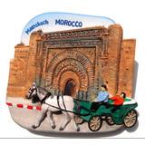 Marrocos - Marrakech - Bab Agnaou Gate - Imã De Geladeira