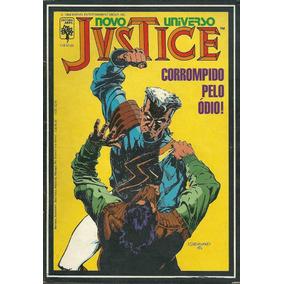 Novo Universo Justice 07 - Abril - Bonellihq Cx353 G18