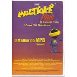 Dvd Multiokê Plus - O Melhor Do Mpb Vol. 7 - Novo***