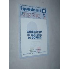 Revista Futebol Federazione Italiana 2001 Anexo Antidoping