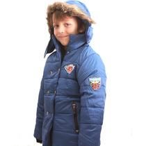 Campera Importada De Niños Nene Varon Con Piel Abrigo