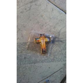 Pino Broche Santo Crusifixo Ave Maria Catolico Simbolo