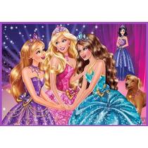 Barbie Papel De Arroz Topo De Bolo..