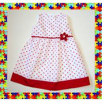 Vestido- Nena Flores Y Lunares