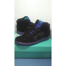 Nike Dunk High Premium Sb Black Grape Ice