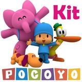 Pocoyo Kit Adesivo De Parede Quarto Infantil Rln123