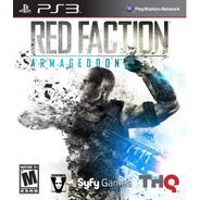 Red Faction Armageddon Ps3 Original Lacrado Mídia Física