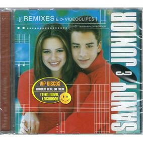 Cd Sandy Junior Remixes E Videoclipes - Novo Lacrado Raro