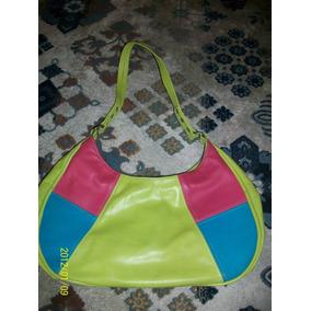 Bolsa Nova - Couro Legítimo - Tons Verde, Rosa Pink E Azul!