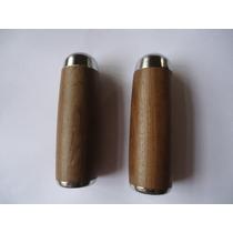 Manopla Ou Punhos De Madeira Feitos De Imbuia 22mm