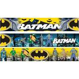 Adesivo De Parede Border Batman Marvel 100x17cm Rln123