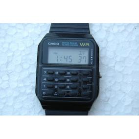 741b89dcd00 Relógio Casio Wr Calculadora Antigo Garantia Relogiodovovô