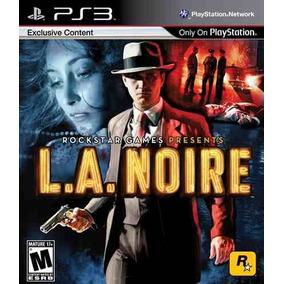 L.a. Noire La Noire Ps3 Novo Lacrado Frete Gratis