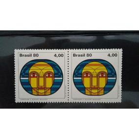Par Selos Comemorativos Homenagem A Televisão Brasileira